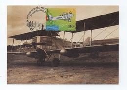 CARTE MAXIMUM POSTCARD PORTUGAL 75years Of  1 FLY TO MACAU MACAO CHINA CHINE AIRPLANE BREGUET AVION AVIONE AIRCRAFT - Macao