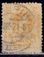 Spain, 1917,  Alfonso XIII, 15c, Sc#310, Used - 1889-1931 Regno: Alfonso XIII