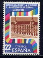 ESPAGNE - 2226** - CONFERENCE SUR LA SECURITE EN EUROPE - 1931-Aujourd'hui: II. République - ....Juan Carlos I