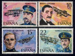 ESPAGNE - 2229/2232** - PIONNIERS DE L'AVIATION - 1931-Aujourd'hui: II. République - ....Juan Carlos I