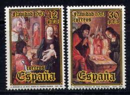 ESPAGNE - 2266/2267** - NOËL - 1931-Aujourd'hui: II. République - ....Juan Carlos I