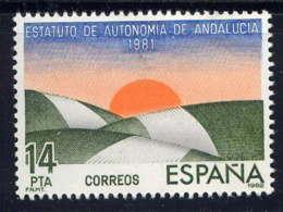 ESPAGNE - 2308** - STATUT D'AUTONOMIE DE L'ANDALOUSIE - 1931-Aujourd'hui: II. République - ....Juan Carlos I