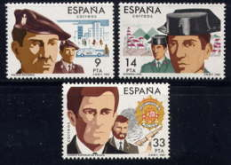ESPAGNE - 2310/2312** - CORPS DE SECURITE DE L'ETAT - 1931-Aujourd'hui: II. République - ....Juan Carlos I