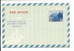 San Marino LF 4 ** - 55 L. Landschaft Aerogramm - Entiers Postaux
