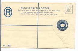 Nyassaland EU 13 C ** - 4 P Elisabeth Einschreiben-Umschlag - Malawi (1964-...)