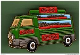 COCA COLA *** CAMIONETTE RENAULT VERTE *** Tirage 200ex *** Qualite Arthus  *** 0012 - Coca-Cola