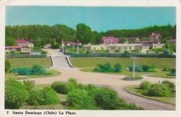 CHILE, SANTO DOMINGO, LA PLAZA- VOYAGEE CIRCA 1959 - BLEUP - Chili