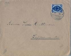 1905 FINLANDIA ,  SOBRE CIRCULADO A LAPPEENRANTA , LLEGADA AL DORSO - Briefe U. Dokumente