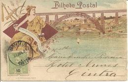 PORTO - Ponte D. Maria Pia - Commemorativo Ao Dia1 Maio (tipo Gruss Auss) - Porto