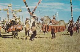 BAILE TIPICO. FOLK DANCING. WUAKA TOKORI. BOLIVIA. ED JIMENES CORDERO.- VOYAGEE CIRCA 1970 - BLEUP - Bolivia
