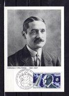 """"""" ROBERT HESNAULT-PELTERIE """" Sur Carte Maximum De 1967. N° YT 1526 Parfait état. CM - Raumfahrt"""