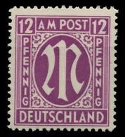 BIZONE AM-POST Nr 15bBy Postfrisch X81E982 - Zona Anglo-Americana