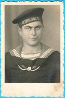 YUGOSLAVIA KINGDOM NAVY - KR. TORPILJARKA 75 Old Photo Croatia Serbia Montenegro * Marine Marina Jugoslawien Jugoslavia - Bateaux