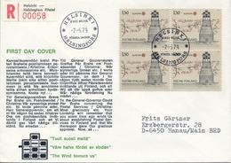 1979 , FINLANDIA ,   YV. 807 BL / 4 , SOBRE DE PRIMER DIA , HISTORIA DEL CORREO POSTAL - Finlandia