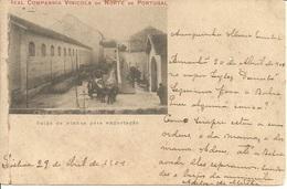 PORTO - Real Companhia Vinicola Do Norte De Portugal - Saida De Vinhos Para Exportação - Porto