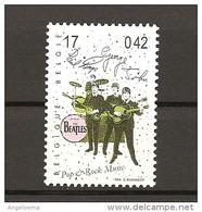 BELGIO - 1999 THE BEATLES Nuovo** MNH - Cantanti