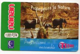 BURKINA FASO RECHARGE NANAN ELEPHANT - Burkina Faso