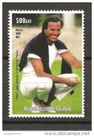 GUINEA - 1998 JULIO IGLESIAS Nuovo** MNH - Cantanti