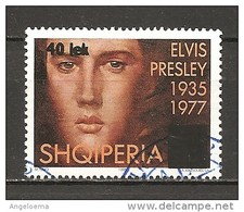 ALBANIA - 1995 ELVIS PRESLEY 1v. Usato - Elvis Presley