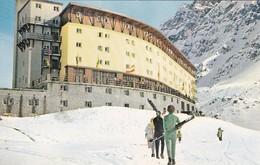 PANAGRA SKY CARD, SKI IN CHILE, JUNE~SEPTEMBER. HOTEL PORTILLIO. CIRCA 1980s- BLEUP - Reclame