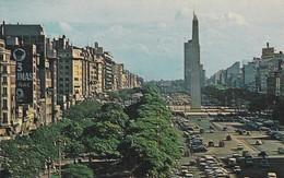 PANAGRA SKY CARD, BUENOS AIRES, CALLE 9 DE JULIO. PUBLICIDAD. CIRCA 1970s- BLEUP - Reclame