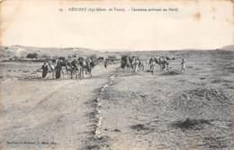 DEHIBAT (650 Kilom. De Tunis) - Caravane Arrivant Au Bordj - Tunisie
