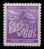 BÖHMEN MÄHREN 1941 Nr 65b Postfrisch X82872A - Bohemia & Moravia
