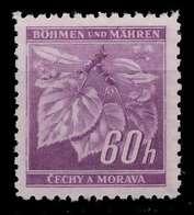 BÖHMEN MÄHREN 1941 Nr 65a Postfrisch X828782 - Bohemia & Moravia