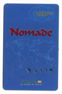 NIGER Prepayé NOMADE Année 2003 - Niger