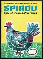 """SPIROU N° 1198 -  Année 1961 - Couverture """" Poule De Pâques """", Dessinée Par WILL. - Spirou Magazine"""