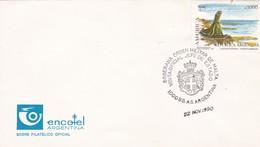 SOBERANIA ORDEN MILITAR DE MALTA, VISITA OFICIAL DE JEFE DE ESTADO. SPECIAL COVER. BUENOS AIRES 1990, ARGENTINE - BLEUP - Malte (Ordre De)