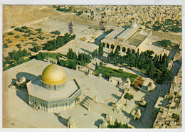 JERUSALEM   DOME  OF  THE  ROCK                    (VIAGGIATA ) - Israele