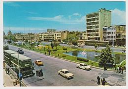 1155/ TEHRAN Maydan Beharestan. Bus. Cars, Voitures, Coches, Macchine, Autos.-Non écrite. Unused. Non Scritta. - Iran