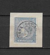 LOTE 1809 /// (C065) ESPAÑA  AÑO 1860/61   - EDIFIL Nº: 75  CON MATASELLO AMBULANTE  ¡¡¡ OFERTA !!! - Used Stamps