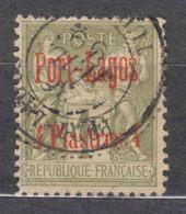 Port-Lagos 1893 Yvert#6 Used - Port Lagos (1893-1931)