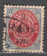 Denmark Danish Antilles (West India) 1902 Perf. 12 3/4 Mi#23 A Used - Denmark (West Indies)