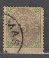 Denmark Danish Antilles (West India) 1876 Perf. 14/13,5 Mi#10 II Yvert#10 Used - Dinamarca (Antillas)