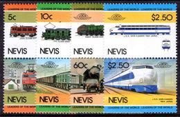 Nevis 1984 World Locomotives (2nd Series) Unmounted Mint. - St.Kitts And Nevis ( 1983-...)