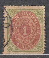 Denmark Danish Antilles (West India) 1873 Perf. 14/13,5 Mi#5 Yvert#5 Used - Dinamarca (Antillas)