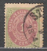 Denmark Danish Antilles (West India) 1873 Perf. 14/13,5 Mi#5 Yvert#5 Used - Denmark (West Indies)
