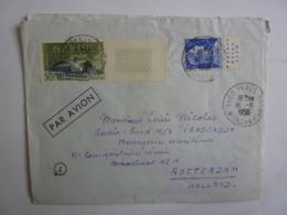 "Messageries Maritimes CARGO"" IRAOUADDY"" ROTTERDAM HOLLAND   Marianne De Muller Avec Pub Erinnophilie Jan2019Abl6 - Marcophilie (Lettres)"