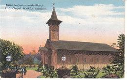 Waikiki - Saint Augustine On The Beach, R. C. Chapel - Honolulu