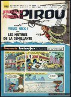 "SPIROU N° 1185 -  Année 1960 - Couverture "" BENOÎT BRISEFER "", De PEYO Et WILL. - Spirou Magazine"