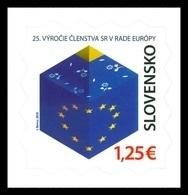 Slovakia 2018 Mih. 850 Slovak Membership Of The European Council MNH ** - Slovaquie