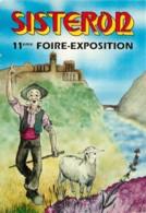 04 - SISTERON - FOIRE EXPOSITION - Sisteron