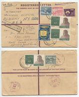 Pakistan 1967 Registered Postal Envelope Thandi Sarak, Hyderabad To U.S. - Pakistan