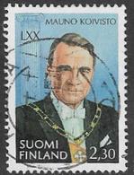 Finland SG1342 1993 70th Birthday Of President Mauno Kovisto 2m.30 Good/fine Used [39/31812/6D] - Finland