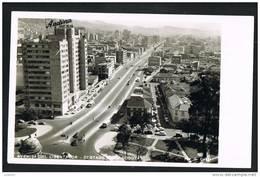 BOGOTA - Avenida Del Libertador - COLOMBIA - Real Photo Postcard   ( 2 Scans) - Colombie
