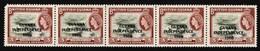 Guyana - Scott #1A MNH - Strip Of 5 - Guyana (1966-...)
