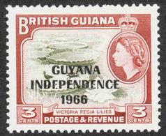 Guyana - Scott #1A MH (1) - Guyana (1966-...)